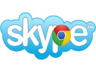 Skype-Chrome(1024x768).png (skype, chrome, logó, )