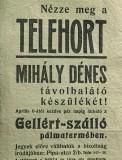 Telehort hirdetés (telehort, tévé)