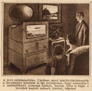 az első tévék egyike (televízió, retro)