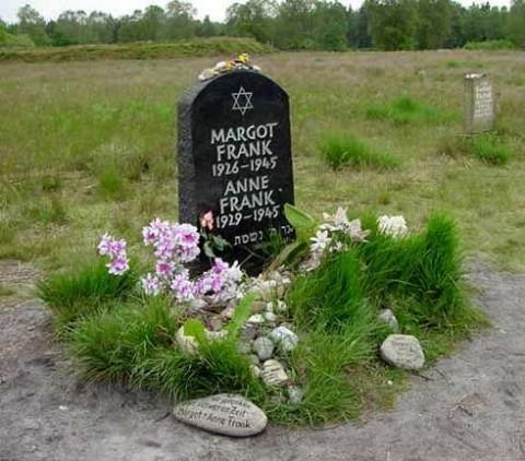 Anne frank sírja (anne frank, )