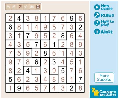 Sudoku 410 (sudoku, játszd újra!, )