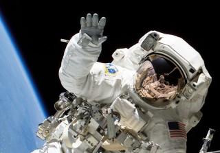 integető űrhajós (űrhajós)