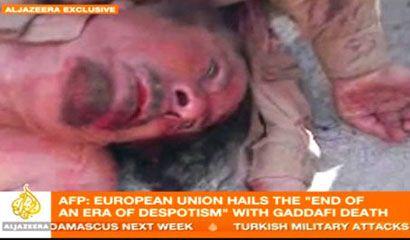 halott Kadhafi ()