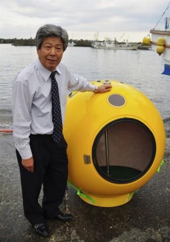 japán túlélőgömb (túlélőgömb)