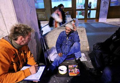 kék attila népszámláló (kék attila, hajléktalan, népszámlálás)