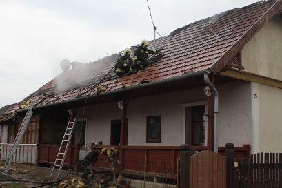 A lakhatatlanná vált ház Pákozdon (tűz pákozd)