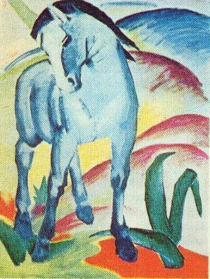 Franz Marc: A kék ló (a kék ló)