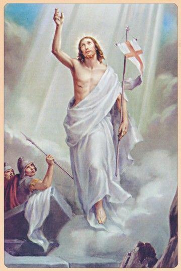 Jézus Krisztus feltámadása (kortárs alkotás) (jézuskKrisztus feltámadása )