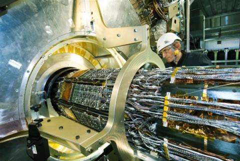 LHC ATLAS kísérlet (atlas, lhc, nagy hadronütköztető, )