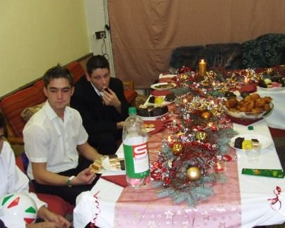 Ünnepi vacsora a velencei diákotthonban (ünnepi vacsora)