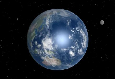 két hold (föld, hold, )