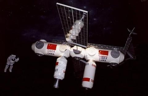 kínai űrállomás (kínai űrállomás)