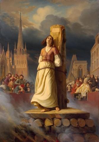 Jeanne dArc a máglyán (Jeanne d'Arc, orléans-i szűz, szent johanna, )