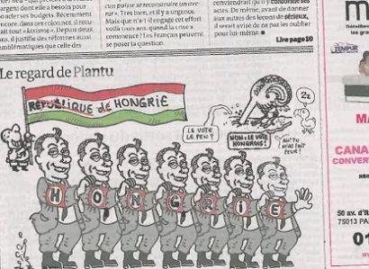 Le Monde - Orbán ()