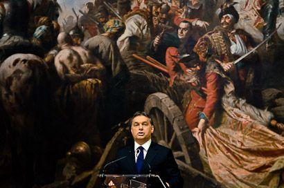 Megnyitó a Nemzeti Galériában (Nemzeti Galéria, Kerényi Imre, festmények)