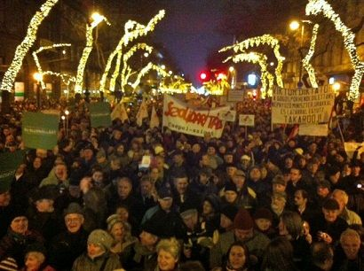 Tüntetés - Andrássy ()