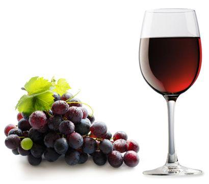boros pohár (bor, pohár, szőlő, )
