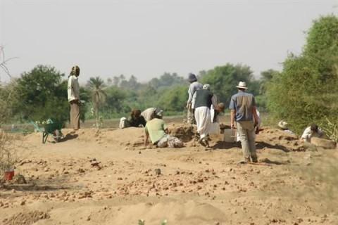 Cseh ásatás Szudánban (ásatás, régészet, )