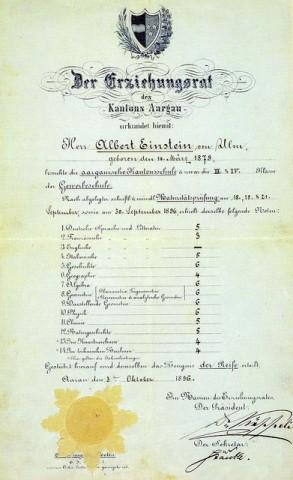 Einstein érettségije (einstein, érettségi, albert einstein, )