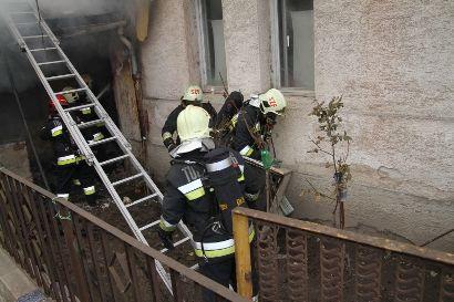 Tűzoltók munkában Fehérvárcsurgón (tűzoltók)