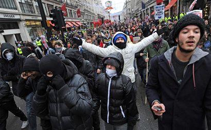 londoni diáktüntetés ()