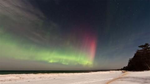 Sarki fény (sarki fény, északi fény, aurora borealis, )
