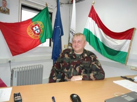 Tajti Miklós alezredes (kfor, magyar honvédség, )