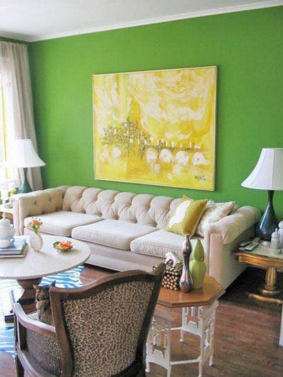 Zöld fal (szín, )