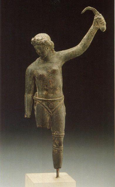 Bronzszobor női gladiátor (bronzszobor, gladiátor, )