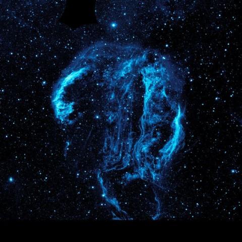 Emberi fej a Hattyú-csillagképben (Hattyúív-köd, Cygnus Loop, hattyú-csillagkép, emberi fej, )