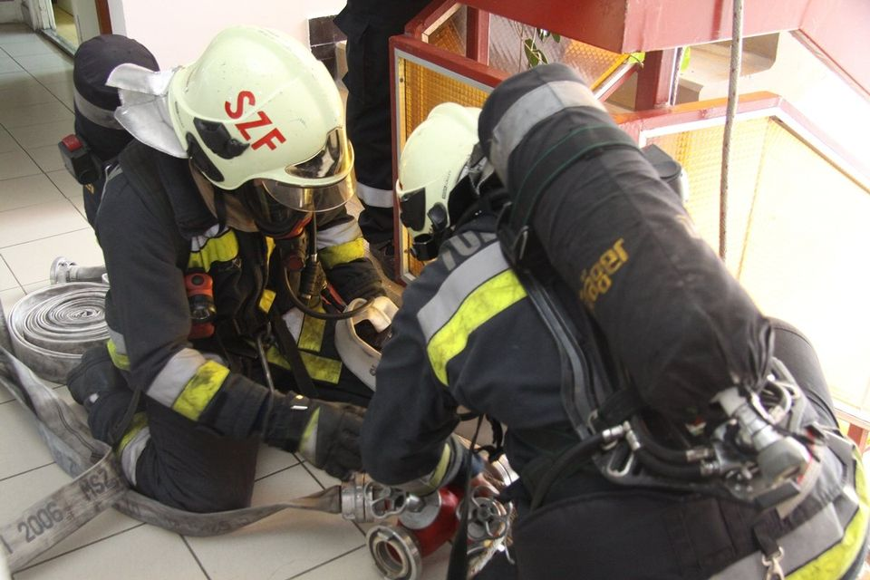 Tűzoltógyakorlat ()