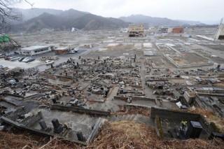 cunami-pusztítás (cunami, japán, )