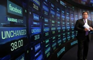 facebook-részvény (facebook, tőzsde, )