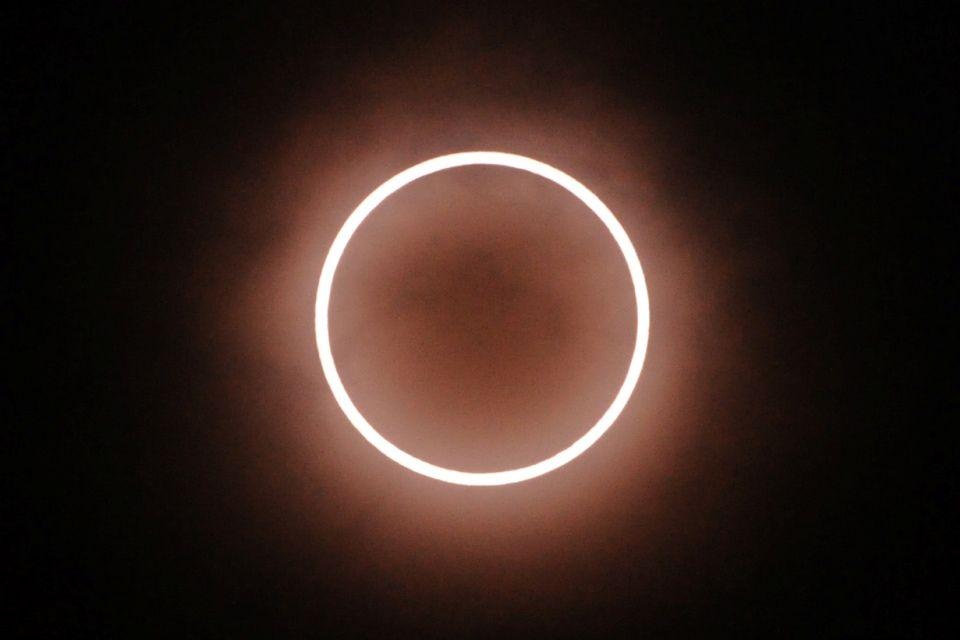 napfogyatkozás (napfogyatkozás, 2012 május)