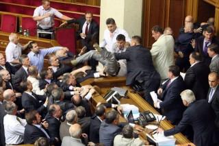ukrán-parlament (verekedés, ukrán parlament, )
