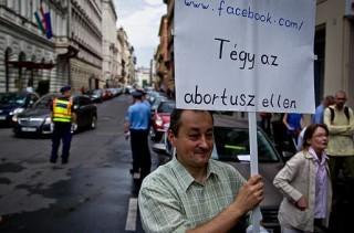 Abortuszellenes tüntetés (abortusz)