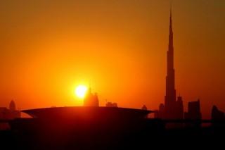Burj Kalifa-naplemente (Burj Kalifa, naplemente)