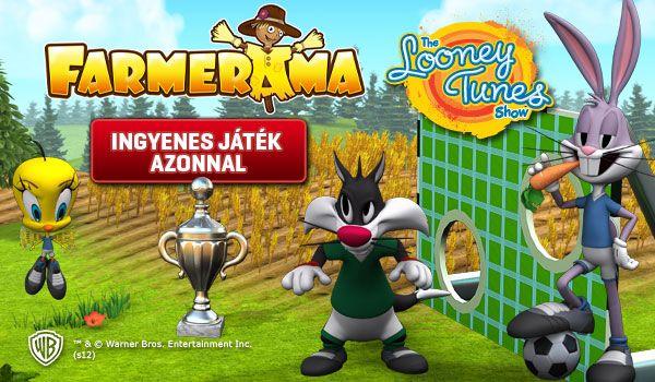 Farmerama Looney Tunes (játszd újra!, )