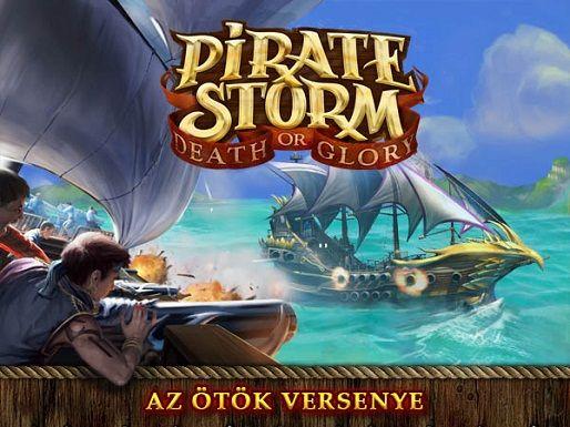 Pirate storm: Az ötök versenye (játszd újra!, Pirate Storm)