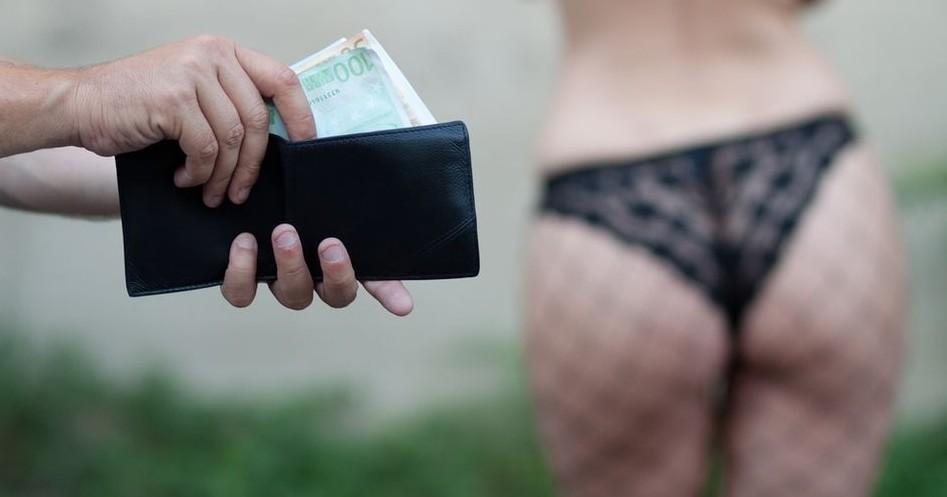 prostituált (prostituált, kéjelgés, )