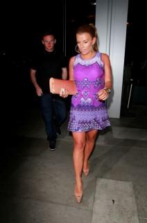 Wayne Rooney-feleségével (Wayne Rooney és felesége Los Angelesben)