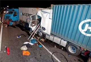 kamionbaleset (ingyenes, kamionok balesete, m5)