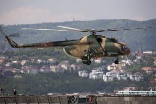 katonai-helikopter (mi-8, honvédség, )