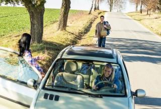 nyaralás autóval (nyaralás, autó, kirándulás, )