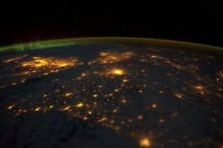 űrfelvétel a földről (űrfelvétel)