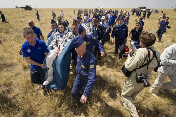 A Nemzetközi Űrállomás visszatérő legénysége (iss, legénység, )