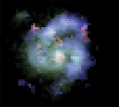 BX442 spirálgalaxis (bx442, galaxis, spirálgalaxis, )