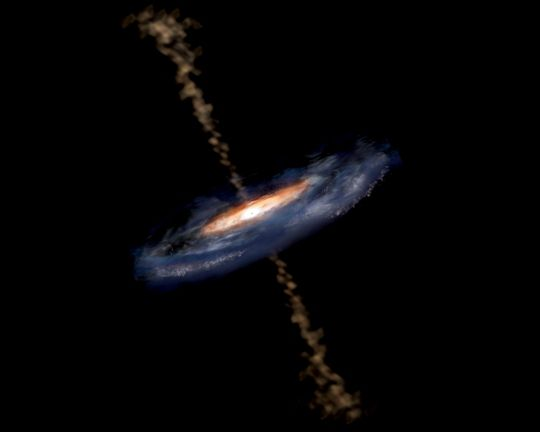 Kettős kvazár (kvazár, kettős kvazár, galaxis, )