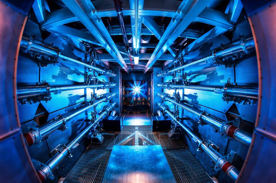 National Ignition Facility (national ignition facility, lézer, )