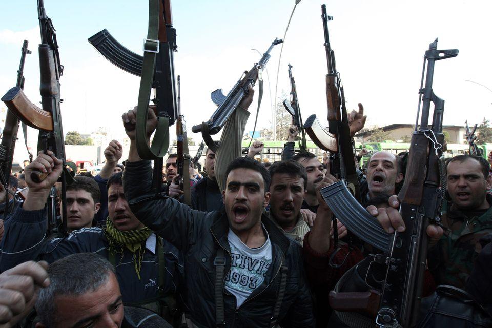 Szíria fegyverek (szíria, fegyveresek, )